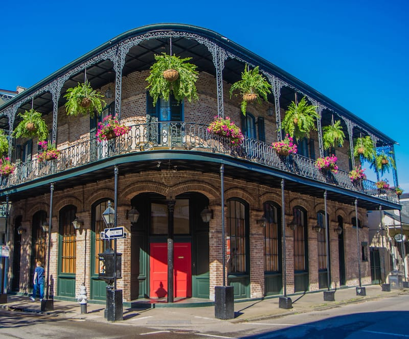 New Orleans in May