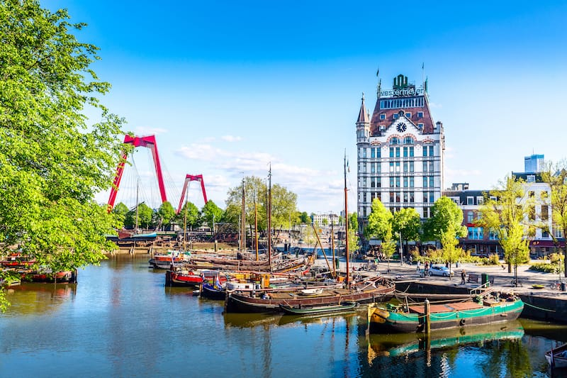 One day in Rotterdam itinerary - Editorial credit: Nikolay Antonov / Shutterstock.com