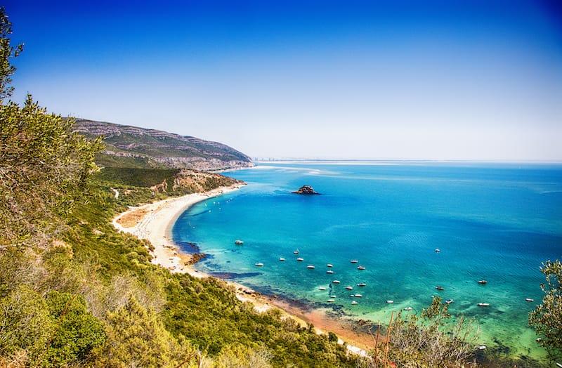 Praia Galapinhos, Setúbal district, Lisbon area, Portugal