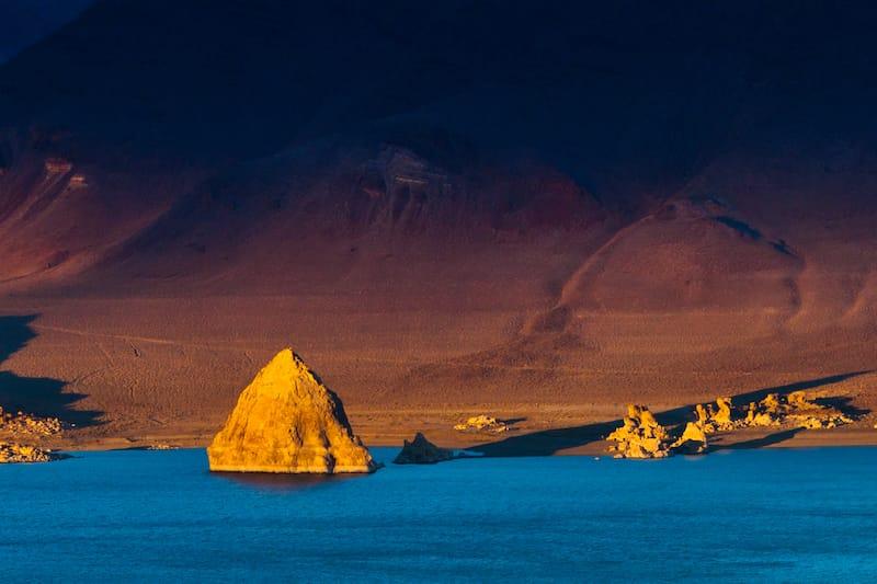 Pyramid Lake Nevada sunset