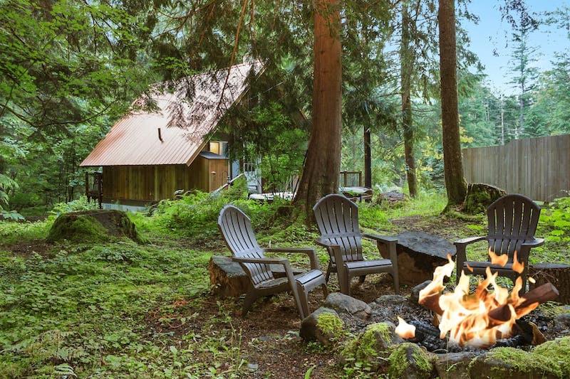 Rainier Cabin-Hot Tub:Sauna & Wood Stove 45