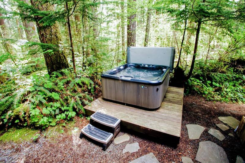 Rustic Cabin in the Woods (Hot Tub + BBQ) 2