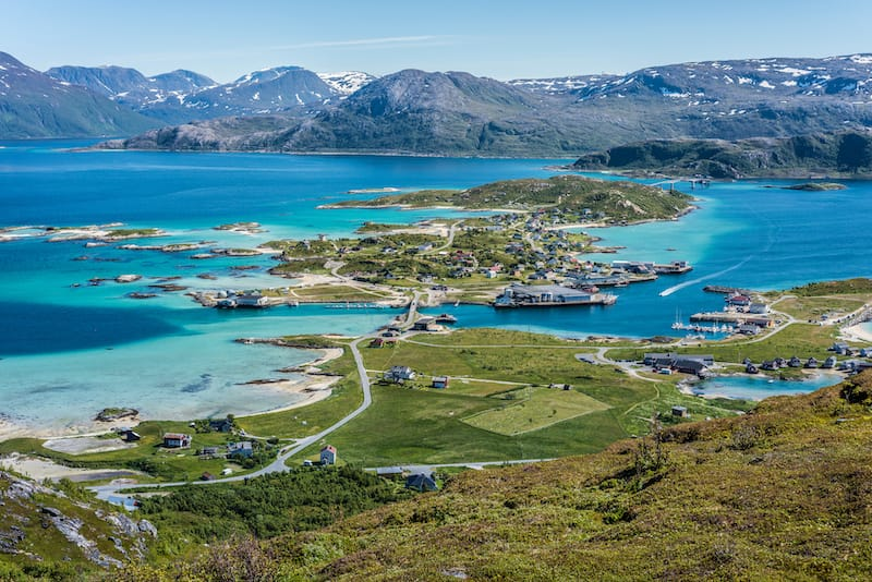 Sommarøy is a fantastic place for hiking during the summer months