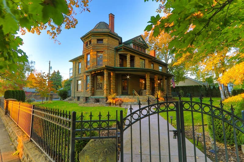 Spectacular Historic Stone Mansion in Town