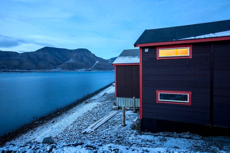 Svalbard Airbnb Rental on Water