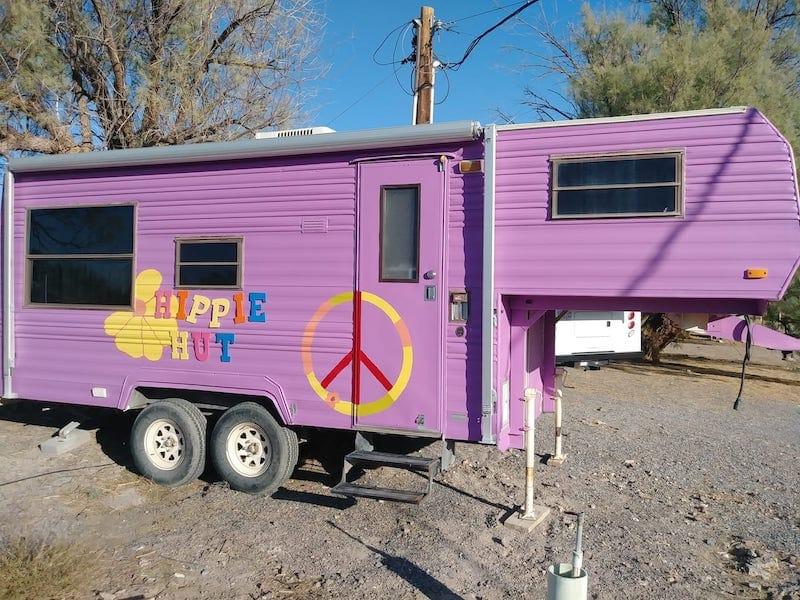 The Hippie Hut camper