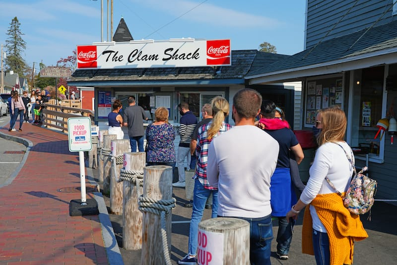 The Clam Shack in Kennebunkport - EQRoy - Shutterstock.com