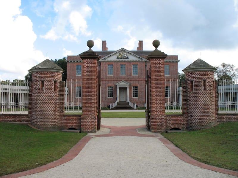 Tryon Palace in New Bern, North Carolina