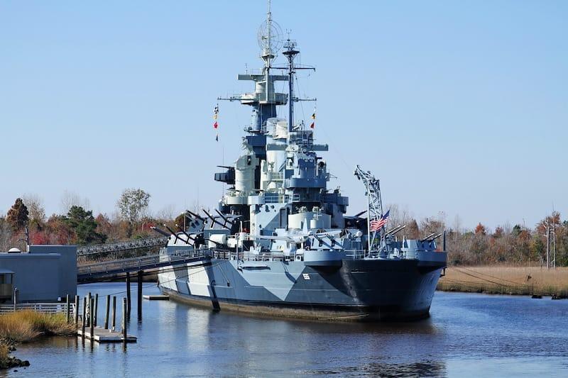 USS North Carolina Wilmington