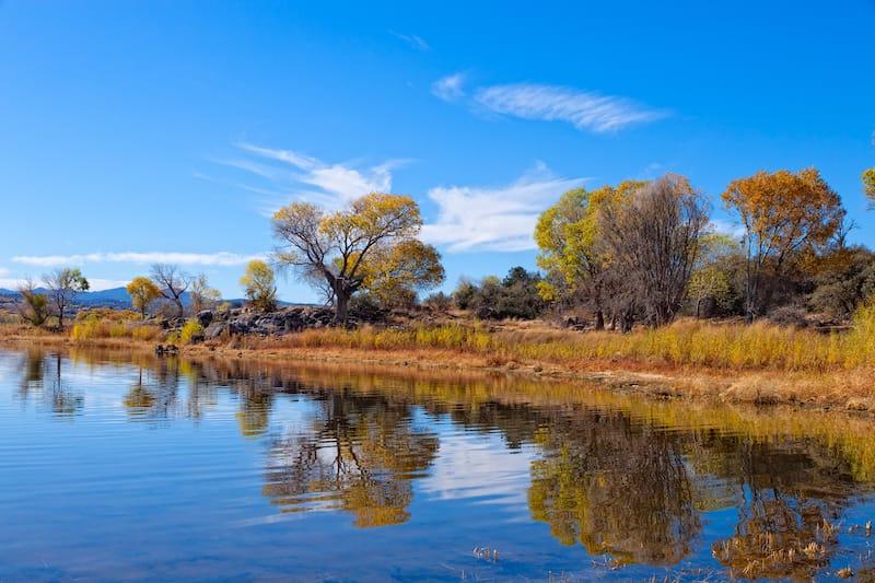 Willow Lake in Prescott, Arizona