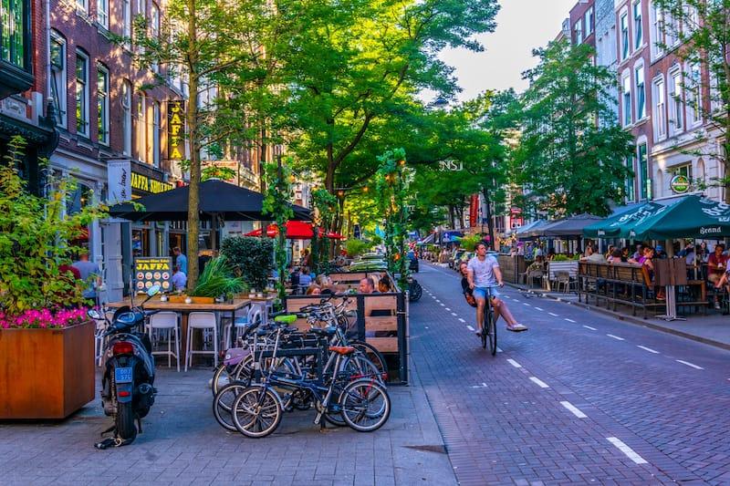 Witte de Whitstraat in Rotterdam