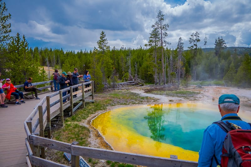 Yellowstone National Park in May