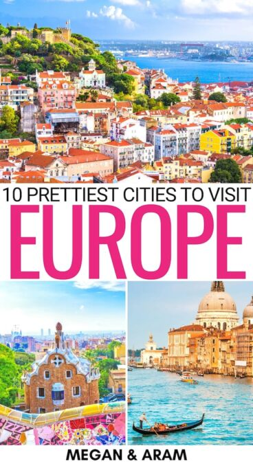 There are many places to jet off to this year and we discuss ten epic choices in this guide to the most beautiful cities in Europe. Click to learn more! | Beautiful places to visit in Europe | European cities | Things to do in Europe | Pretty cities in Europe | Where to go in Europe | Most beautiful destinations in Europe | Europe itinerary | Instagrammable European cities | Best places in Europe