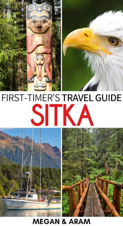Are you planning a trip to Alaska and are on the hunt for the best things to do in Sitka? We have whale watching, Russian history, and much more! Click to read! | Sitka attractions | Attractions in Sitka | Sitka Russia history | Sitka travel | Hiking in Sitka | Places to visit in Alaska | What to do in Sitka | Sitka things to do | Sitka Alaska | Sitka whale watching | Sitka wildlife | Visit Sitka | Travel to Sitka | Places to visit in Sitka | Sitka itinerary | Sitka sightseeing | Sitka landmarks