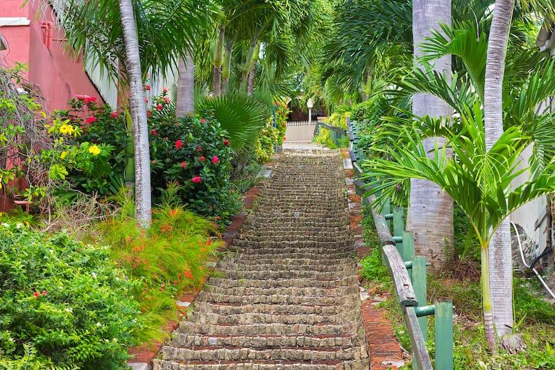99 Steps St. Thomas