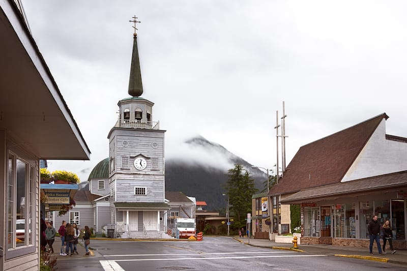 Cathedral of St. Michaels in Sitka