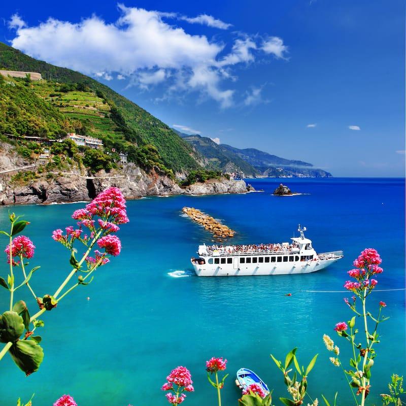 Cinque Terre boat tour 3