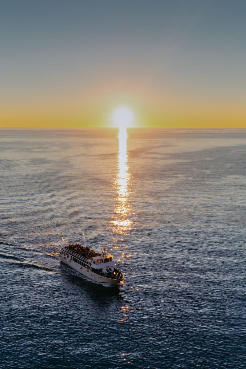 Cinque Terre boat tour 5