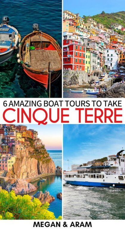 Are you looking for the perfect Cinque Terre boat tour? This guide takes you through the top Cinque Terre boat trips - from sunset cruises and beyond! | Cinque Terre day tour | Cinque Terre things to do | Cinque Terre activities | Day trips Cinque Terre | Day tours Cinque Terre | Boat tours Cinque Terre | Boat trip Cinque Terre | Things to do in Cinque Terre | Sunset cruise Cinque Terre | Cinque Terre cruise | Cinque Terre kayak