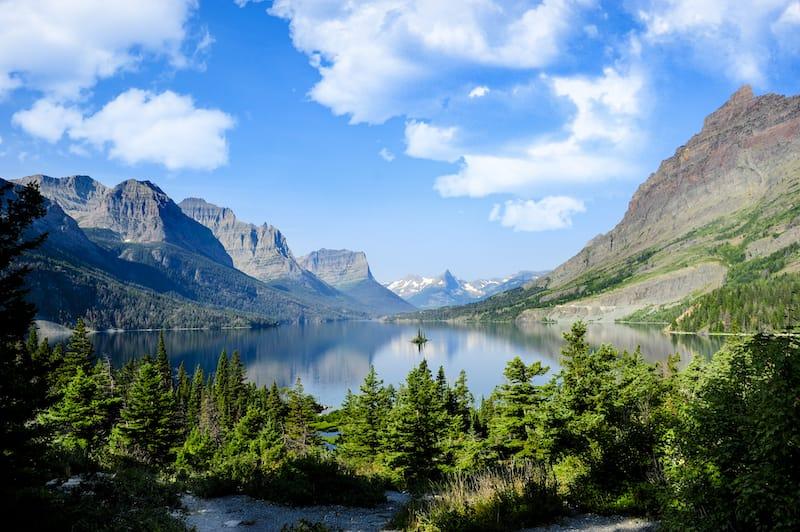 Glacier National Park in June