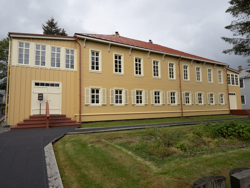 Russian Bishop's House in Sitka