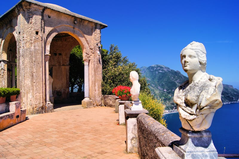 The Terrace of Infinity in Ravello