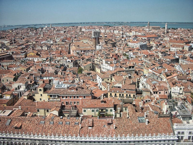 Venice from St. Mark's Bell Tower