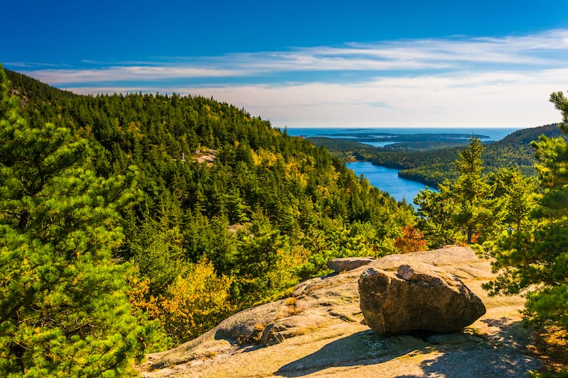 Acadia National Park in July