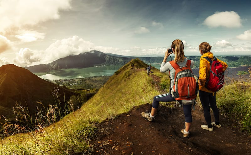 Backpacking with camera