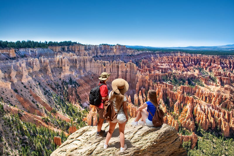 Bryce Canyon National Park in July