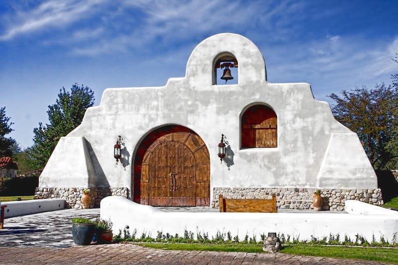 Church in Tubac, Arizona