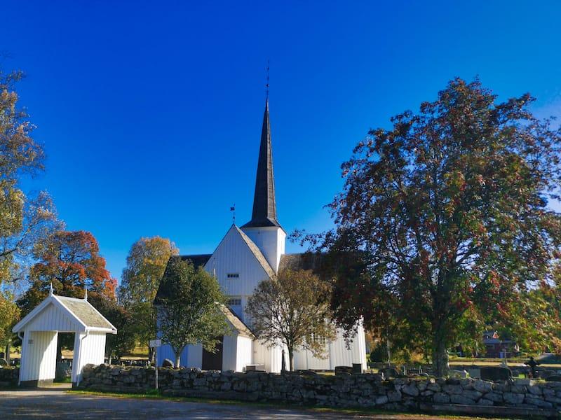 Eidskog Church in Magnor