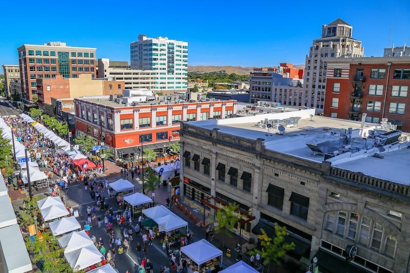 Farmer's Market in Boise