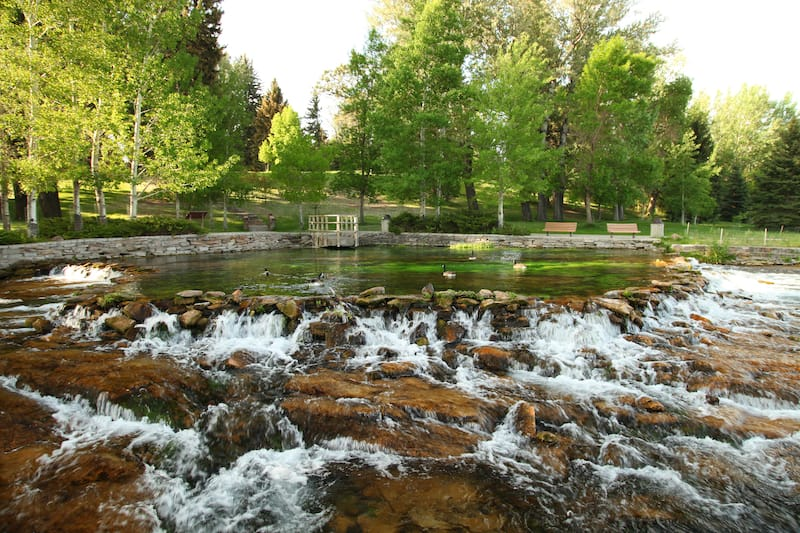 Giant Springs State Park in Great Falls