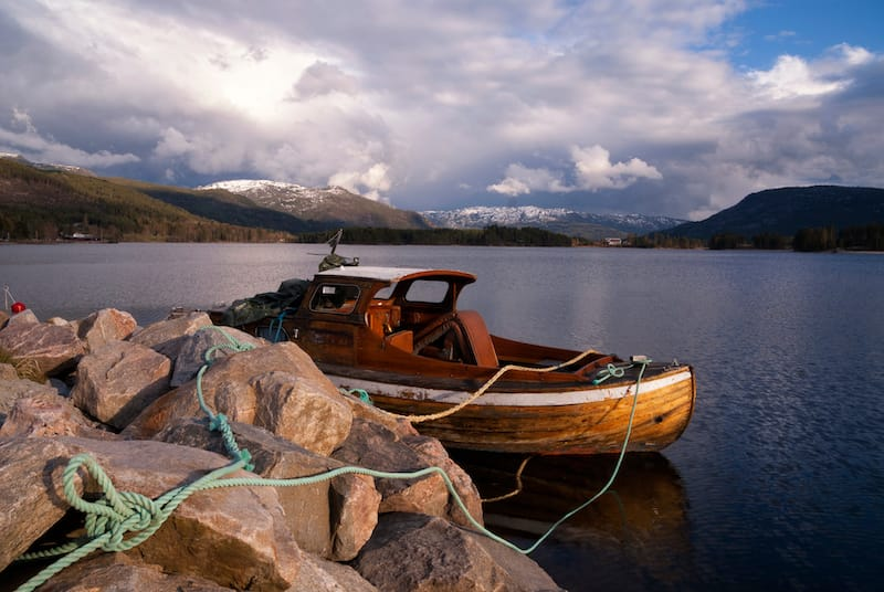 Lake Nisser in Vrådal
