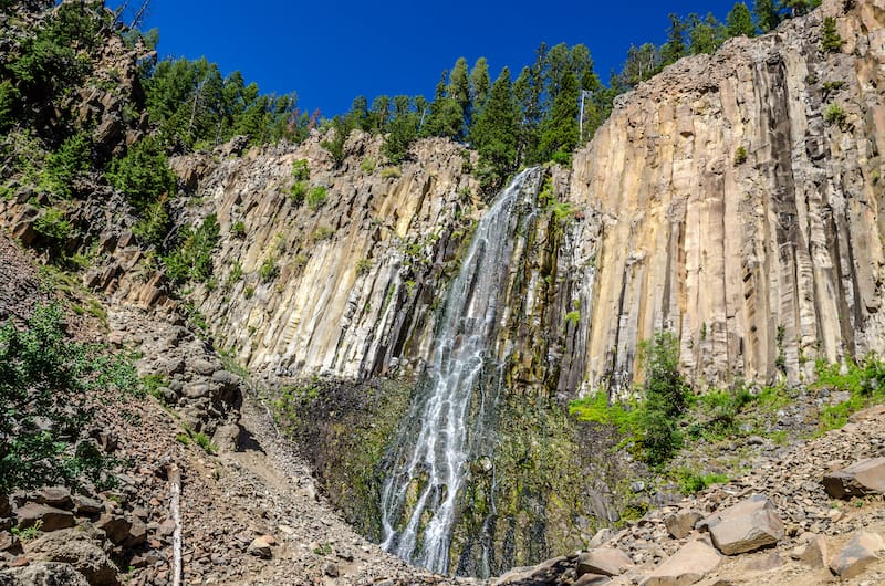Palisade Falls in Hyalite Canyon