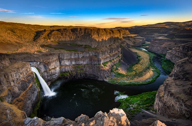 Palouse Falls in SE Washington
