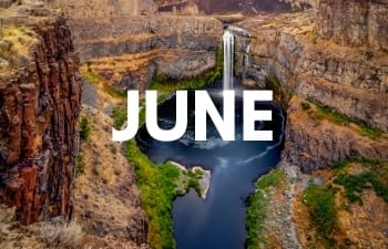Places to visit in June