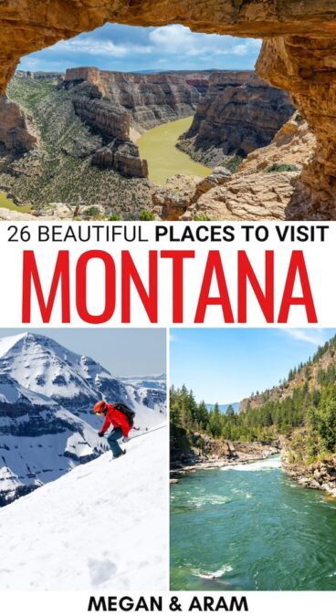 Are you looking for the best places to visit in Montana? This guide is the ultimate Montana bucket list - you'll find city destinations, nature, and much more! | Montana road trip | Montana itinerary | Things to do in Montana | Montana cities | Montana parks | Hiking in Montana | What to do in Montana | Attractions in Montana | Landmarks in Montana | Montana Destinations | Montana bucket list | Visit Montana | Montana travel | Montana photography | Montana things to do | Places to visit in MT