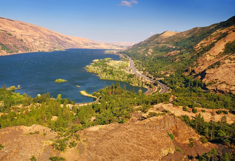 Rowena Crest Overlook near The Dalles