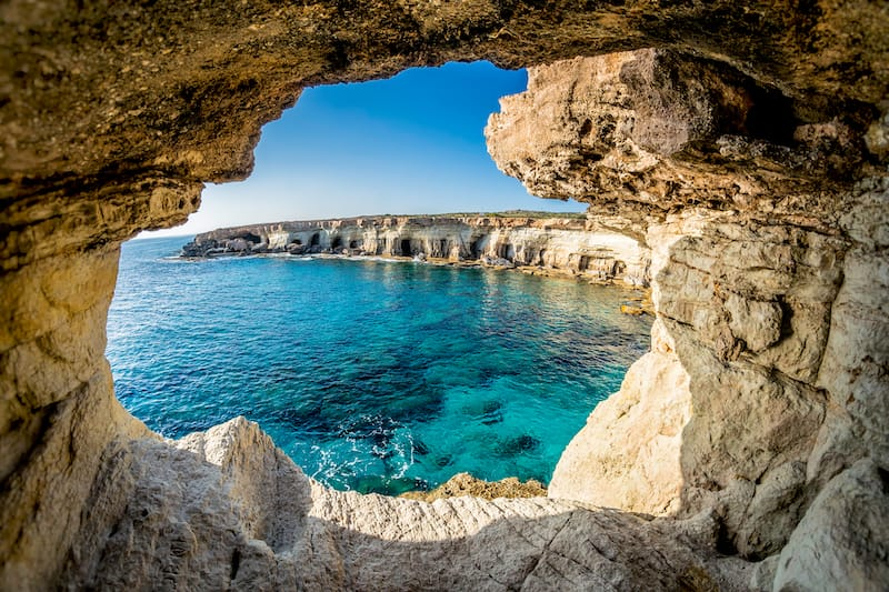 Sea Caves in Ayia Napa