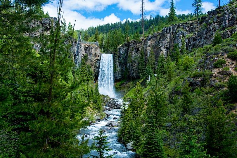 Tumalo Falls near Bend