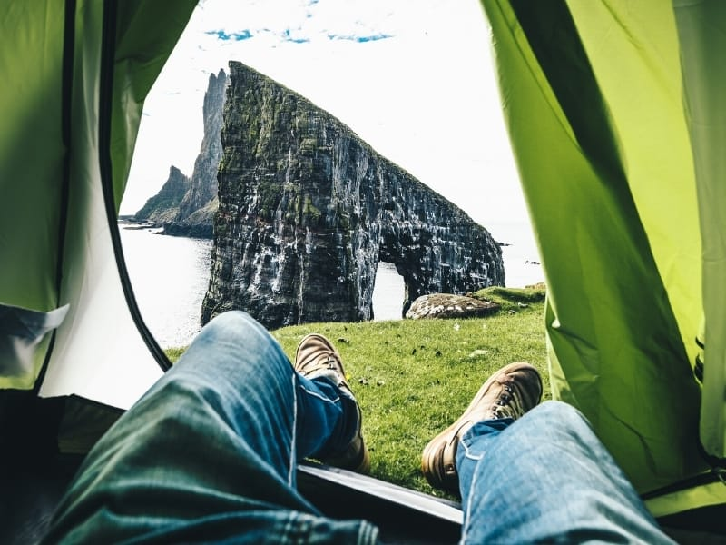 Camping in the Faroe Islands 2