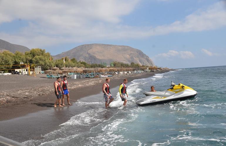 Jet ski safari from Perivolos