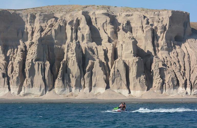Santorini jet ski safari