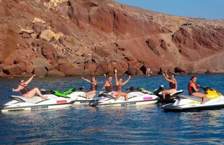 Santorini jet ski tour