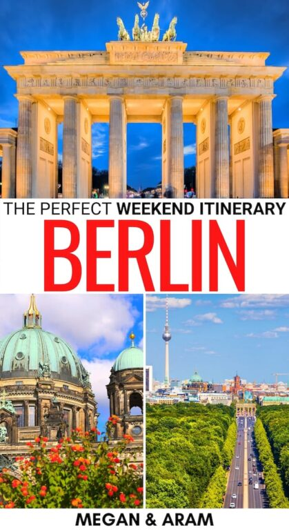 Spending a weekend in Berlin soon? This 2 days in Berlin itinerary will help you make the most of Germany's capital city! It includes things to do and more! | Things to do in Berlin | Itinerary Berlin | 2 days in Berlin | 3 days in Berlin | What to do in Berlin | Berlin city break | Berlin sightseeing | Berlin day trips | Places to visit in Berlin | Where to eat in Berlin | Berlin attractions | Berlin landmarks | Visit Berlin | Travel Berlin | Berlin weekend trip