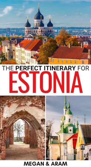 Are you planning to spend one week in Estonia? This Estonia itinerary will help you plan! It hits the best sights and will make the most of your week!   Itinerary for Estonia   Week in Estonia   Estonia road trip   What to do in Estonia   Things to do in Estonia   7 days in Estonia   Tallinn itinerary   Tartu itinerary   Baltics itinerary   Estonia landmarks   Estonia attractions   Trip to Estonia   Travel to Estonia   Visit Estonia   Things to do in Tallinn   Visit Parnu   Visit Tartu