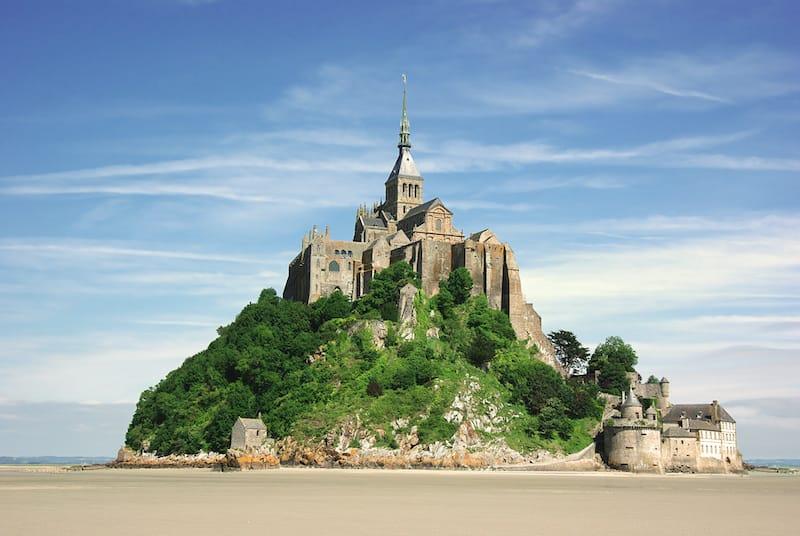 Bay of Mont St. Michel
