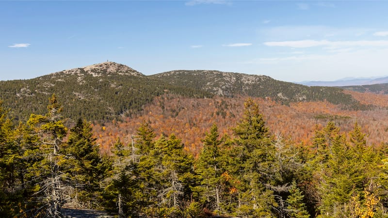 Cardigan Mountain State Park in New Hampshire